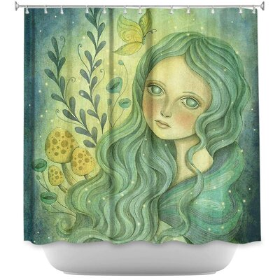 Lively Queen Shower Curtain