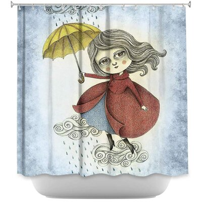 Cloud Dancing Shower Curtain