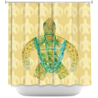 Hulsey Sea Turtle Shower Curtain
