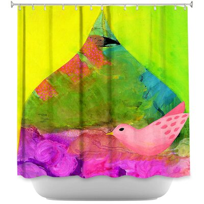 Flight of Love Bird Shower Curtain