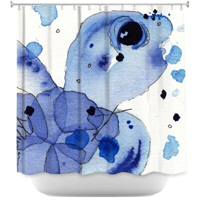 Hulsey Seaturtle Shower Curtain