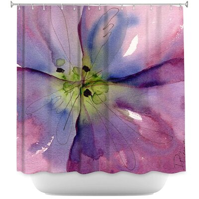 Pansy II Shower Curtain