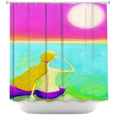 Bellingham Moon Shower Curtain
