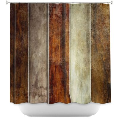 Earth Shower Curtain
