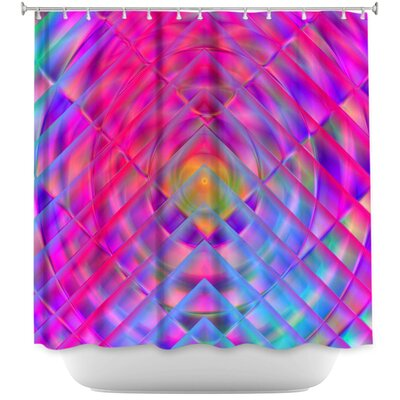 Centered II Shower Curtain