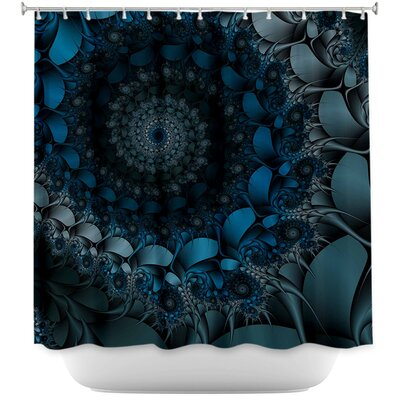 Spirling Winds Shower Curtain