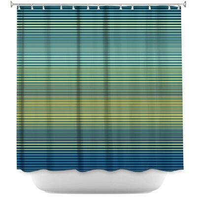 Hannan Teling Stripes Shower Curtain