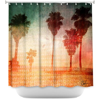 Pale Beach Shower Curtain