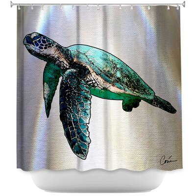 Hulsey Sea Turtle II Shower Curtain