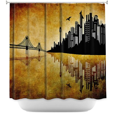 Hubris Mankind Shower Curtain