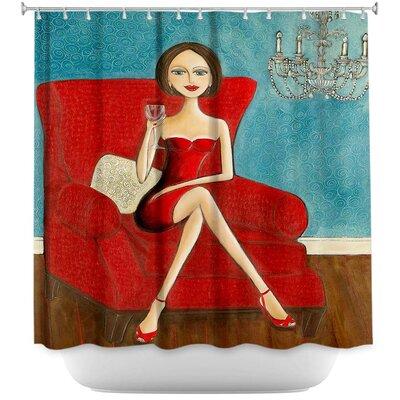 Little Dress Shower Curtain