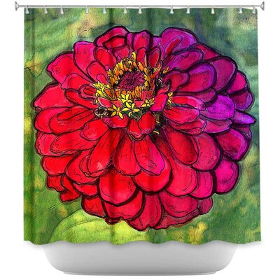 Parisian Zinnia Shower Curtain