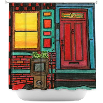 Door 888 Shower Curtain