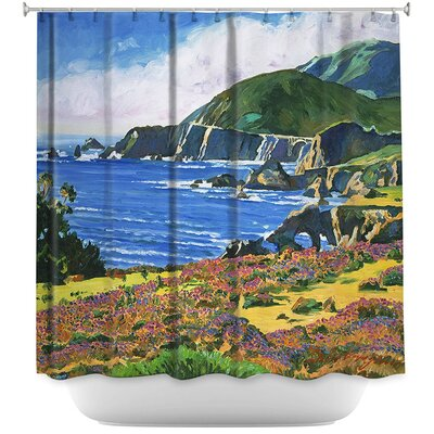 Big Sur 2 Shower Curtain