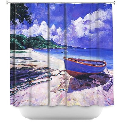 Boat Fish Nets Shower Curtain