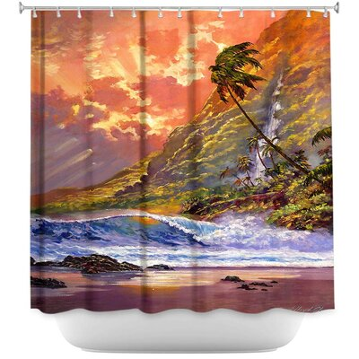 Dawn in Oahu Shower Curtain