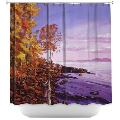 Lake Shore Evening Shower Curtain