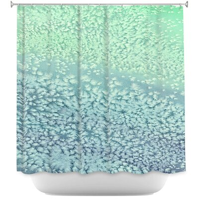 Wavesong Abstract Shower Curtain