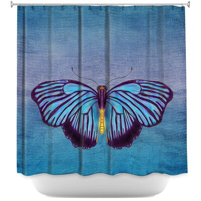 Cendejas Butterfly Shower Curtain