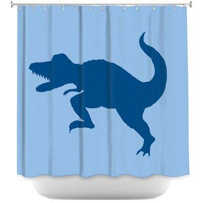 Cleve Dinosaur I Shower Curtain