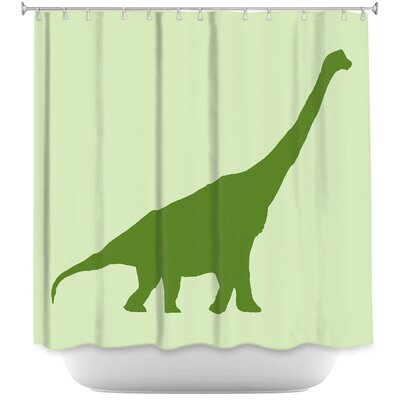 Dodson Dinosaur I Shower Curtain