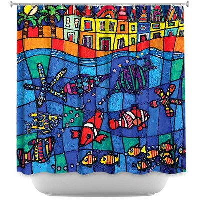 Hollon Life Shower Curtain