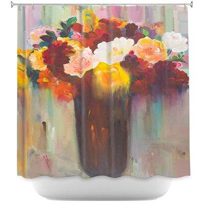 Lizarraga Bouquet of Flowers Shower Curtain