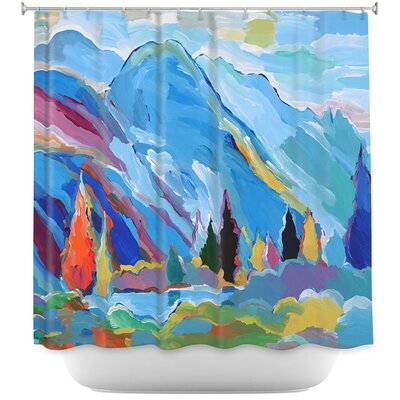 Colorado Composition Shower Curtain