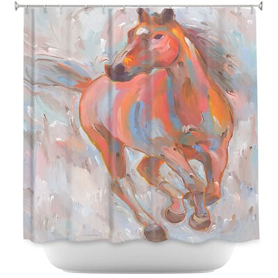 Equine Elegance I Horses Shower Curtain