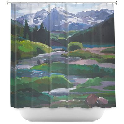 Maroon Bells Aspen Shower Curtain