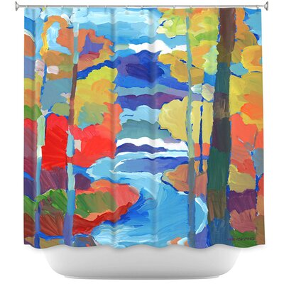 Route to Respite Shower Curtain