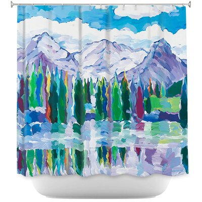 Scenic Sentries Shower Curtain