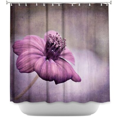 Chocolate Cosmos Shower Curtain