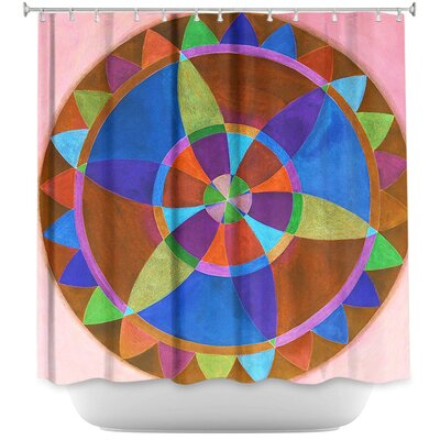 Mandala I B Shower Curtain