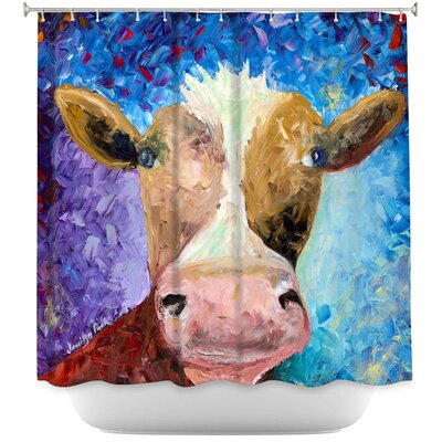 Miss Moo Shower Curtain