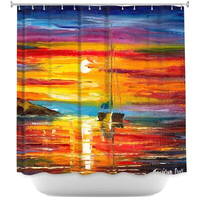 Playa del Sol Shower Curtain