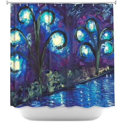 Twilight of Love Shower Curtain