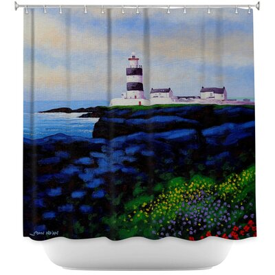 Hook Lighthouse I Shower Curtain