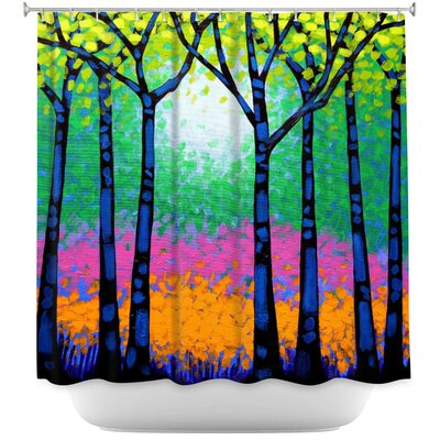 Celentano Seven Trees Shower Curtain