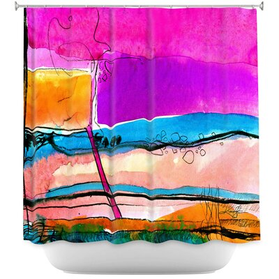 Abstraction XXVII Shower Curtain