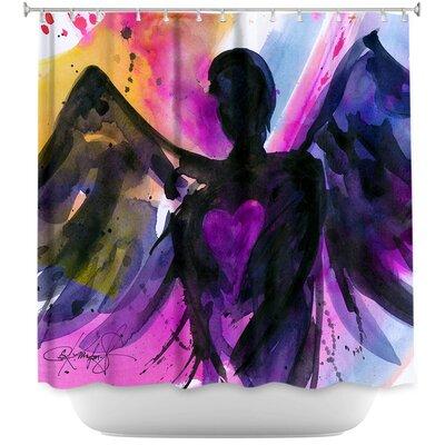 Angel 25 Shower Curtain