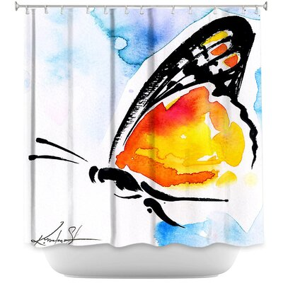 Cendejas Butterfly Love XXX Shower Curtain
