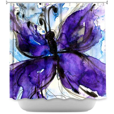 Cendejas Butterfly Song IV Shower Curtain