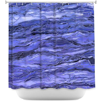 Marble Idea Shower Curtain