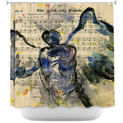 Calling All Angels XLIII Shower Curtain