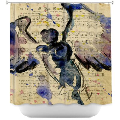 Calling All Angels XLVII Shower Curtain