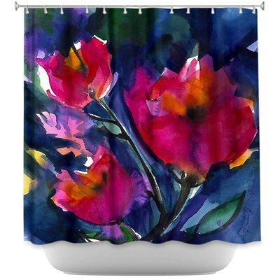 Loeffler Floral Dreams Shower Curtain