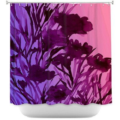 Petal Thoughts Shower Curtain