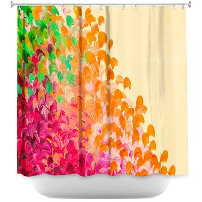 Sarina Creation in Autumn Infusion Shower Curtain