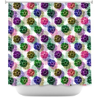 Spots And Dots II Shower Curtain